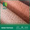 Poly Linen Fabric Home Textile Furniture Upholstery Fabrics Types with Brushed Backing