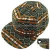Genuine Leather Strap Antique Buckle Sport Camp Baseball Cap (TMB00542-1)