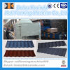 Sand Blasting Stone Chips Tile Making Machine