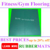 Indoor Outdoor Sports Court Crossfit Black Recycle Rubber Floor