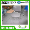Metal Frame Plastic Chair with Writing Pad (SF-50F)