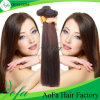 Natural Brown Brazilian Straight Top Quality 100% Human Hair Weave