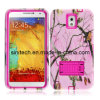 Pink Tree Pattern Hard Tough Case Cover with Kick Stand for Samsung Galaxy Note3 N9000
