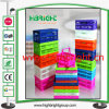 Plastic Colorful Foldable Gifts Promotion Mini Crate Box