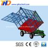 4 Wheels Semi Trailer for Cotton/Vegetables/Livestocks