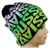 Knitted Beanie with Knitted in Design NTD1683