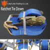 "2""&50mm TUV Certified Ratchet Tie Down, Cargo Strap Restraints, Ratchet Lashing, Cargo Lashing"
