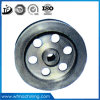 OEM Grey Iron Sand Casting Belt Pulley with CNC Machining From Cast Foundry