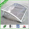 Clear High Impact Resistant Polycarbonate Window  Sunshade Aluminum Bracket Awnings