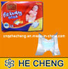 Cheap Standard Disposable Baby Diaper Manufacturers in China (BD-03)