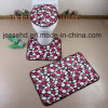 Soft Modern Design Foam Bathroom 3piece Mat Set