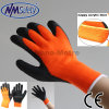 Nmsafety Cheap Thermal Glove Latex Coated Gripper Gloves