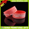 Custom Adult Silicone Bracelets with Deboss Color Filled (TH-band041)