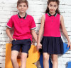 New Style OEM Hot Sale Cotton Children School Uniform Polo Shirt for Students Wear