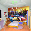 Hot Selling Cartoon Characters Wallpaper for Kids Room/Children Room Wall Murals