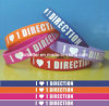 2013 One Direction Silicone Wristband