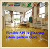 Abrasion Resistant Anti-Skid Spua Rubber Flooring of Stone Pattern