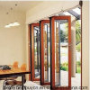 Full Alloy Thickness Bifolding Aluminum Door