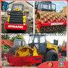 40hc_Container-Shipping 12~25ton/Vibrating New-Headlights Aircooled Sheep-Feet-Capped Used Dynapac Ca25pd Road Roller