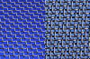 Decorative Mesh (With Blue Color)