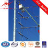 Octogonal 11.8m Galvanized Steel Tubular Pole with Cross Arm