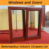 Tilt and Turn Wood Aluminium Cladding Window for Bad Weather