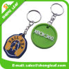 Low Price Cute Raised Custom Rubber Key Chain (SLF-KC058)