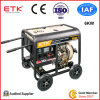 6kw Diesel Generator Set with Green Colour Fan Case