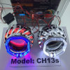 35W HID Bi-Xenon Projector Lens Angel Eyes Light for Car/Motorcycle