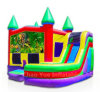Multi Color Inflatable Combo Bounce House with CE Blower (CYBC-577)
