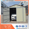 Silver White Modular Steel Garages Kits with Color Coated Steel Wall