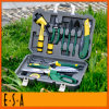 Comfortable Handle Green Garden Hand Tool Set, Most Popular 13pcsgarden Hand Tool Set in Plastic Box T03A120