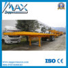 High Quality 40 Feet 2 Axle Flatbed Container Semitrailer