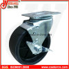 5X2 Polypropylene Swivel Casters with Side Tread Brake