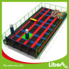 Indoor Trampoline with Jumping Box and Foampit
