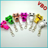 Novelty Electronic Gifts Robot Shaped Earphone Splitter Two Way 3.5mm Jack Music Splitter
