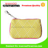 Hot Sale Classical Canvas Wallet Bag with Clear Window for Female