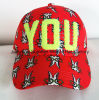Custom 3D Embroidery Leisure Cotton Snapback Cap Hat