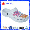 Casual Outdoor EVA Clog Shoes with Printing for Lady (TNK30042)