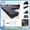 Black Plywood T Shape Catwalk Stage for Fashion Show Stage