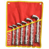 Spanner Wrench Hand Tools 6PCS L Socket Wrench with Pouch Bag