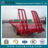 3-Axles Low Bed Semi Trailer for Heavy Equipment Transport