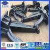 ABS Lr CCS Cert Black Paint 1000-5000kg Type M Speke Anchor