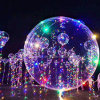 Helium Bobo Balloons with LED String Light for Holiday Decoration