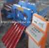 Glazed Roof Tile Roll Forming Construction Machine Tile Machine