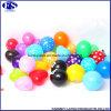 "10"" En71 1/2/3 Standard Colorful Round Balloon Pattern/ Letter Printable"