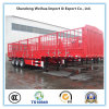 China Stake Fence Truck Trailer with Size 13m * 2.5m * 3.6m