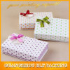 Custom Exquisite Ribbon Bow Paper Magnetic Gift Box Packaging Supplier