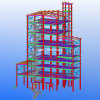 Four-Storey China Easy and Fast Install Steel Structure Warehouse/Factory/Shed with Design