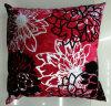 Metallic/Flock Printed Decorative Pillow Metallic Print Cushion (XPL-63)